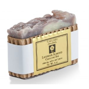 Lavender Almond Cleansing Bar