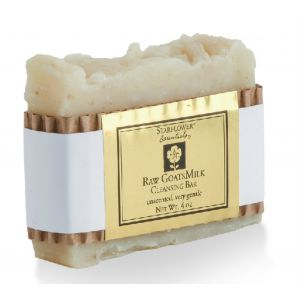 Raw GoatsMilk Cleansing Bar (unscented)
