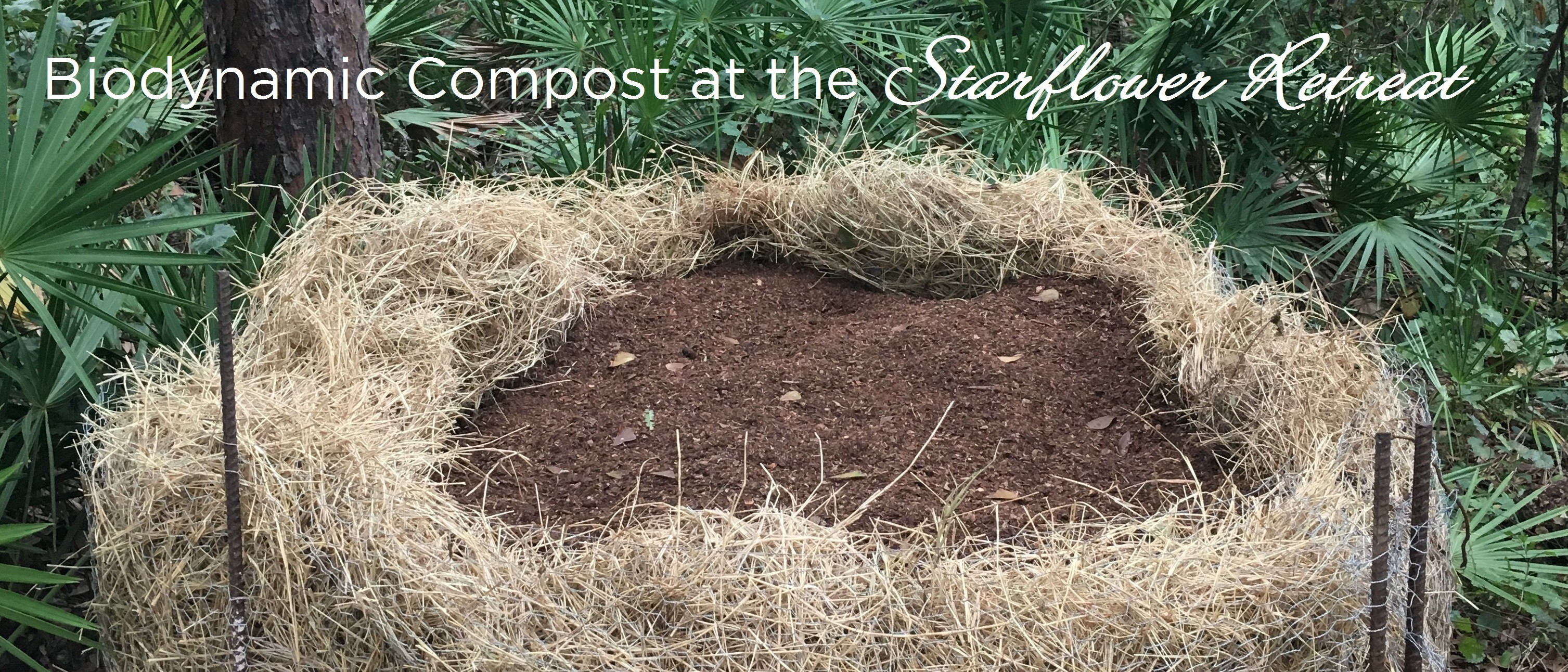 Biodynamic Compost at the Starflower Retreat