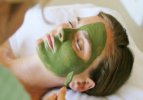 Herbal Steam and Natural Face Masks